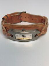Guess Ladies Quartz Watch leather Strap WORKING