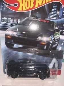 Hot Wheels BLACK  '88 Honda CR-X 2020 New Release #4/5 VHTF NEW SEALED HTF !!!!!