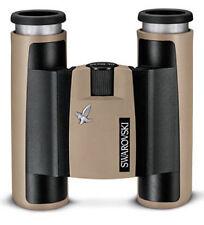 SWAROVSKI Tasca CL 10 X 25 Binocular IN SABBIA MARRONE (UK Stock) nuovo con scatola