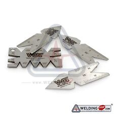 Lathe Machine CNC Cutting Angle Gauge & Center Gage 4pcs Thread Gauge Set