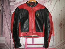 CHUPA CUERO HARRO ROCKER PIEL VINTAGE CHAQUETA MOTORISTA LEATHER JACKET RACER- M