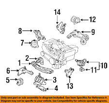 acura honda oem 93-95 legend engine-side mount bracket right 50853sp0n10  (fits: acura legend)