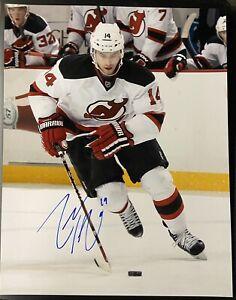 Adam Henrique AUTO SIGNED 11x14 Devils Hockey Photo- PSA/JSA GUARANTEE