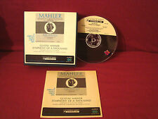 GUSTAV MAHLER SYMPHONY OF A THOUSAND VERY RARE AMPEX 71/2 IPS REEL 2REEL 4 TRACK