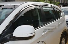 MIT for Honda CR-V 4th.(4pcs) In-channel Window Deflector visors (for 2012-2016)