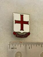 Authentic US Army 8th Medical Battalion DI DUI Crest Insignia NH