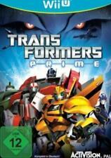 Nintendo Wii U Transformers PRIME DAS SPIEL  Deutsch Top Zustand