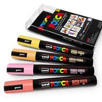 Uni Posca PC-5M Arte Pennarello Pittura Penne - Colore Confezioni - 4 Set