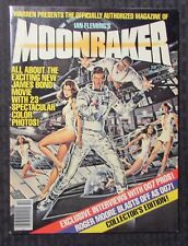 1979 MOONRAKER Warren Official Movie Magazine VF 8.0 James Bond 007