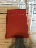 The Lutheran Hymnal Book Red Hardcover Synods Constituting
