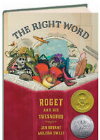The Right Word Roget and His Thesaurus by Jen Bryant (Hardcover) FREE ship $35