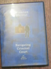Winston Shrout Solutions in Commerce NAVIGATING CRIMINAL COURT DVD