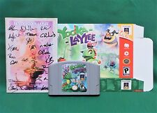 Yooka-Laylee 64-Bit Edition Signed Manual Nintendo N64 USB Cartridge Kickstarter