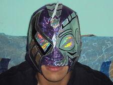 WWE Mask Black Warrior Purple Professional for Adult