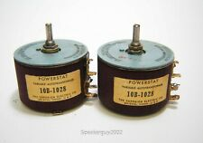 Pair of Superior Electric Powerstats / 10B-1028 -- KT