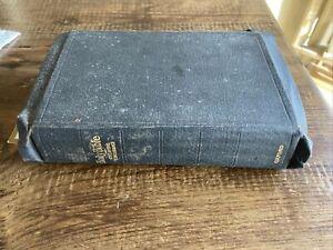 Holy Bible Oxford Self-Pronouncing S.S. Teacher's Edition Cyclopedic Concordance