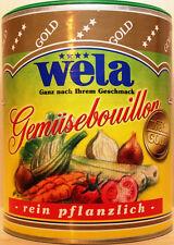 wela - Gemüsebouillon rein pflanzlich  63 Liter