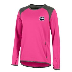 Notre Dame FIghting Irish NCAA Champion Women's (Pink) Athletic Tech Perf. Crew