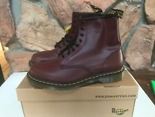 Dr. Martens New Men's US 13 1460 Cherry Red Boots Classic Doc Combat LEATHER