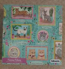 Gibsons Famous Felines 1000 Piece Jigsaw Puzzle