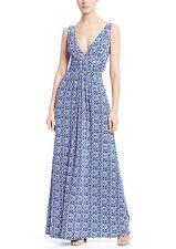 TART Collections 'Adrianna' Circle Batik Print Maxi Dress Sz XS Beautiful & Sexy