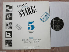 Gate The Snare - V.A.   Vinyl   DAF  400 Blows  Chai-Am   Elevation
