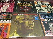 ART BLAKEY & JAZZ MESSENGERS 6 LP'S MOANIN TUNISIA CARAVAN KYOTO LES LIAISON SET
