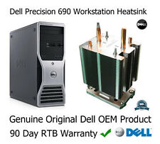 Dell Precisión 690 Workstation Procesador CPU Disipador Calor Con Tornillos