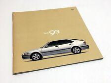 2000 Saab 9-3 Coupe 5-Door SE Brochure