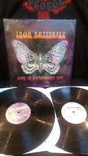 IRON BUTTERFLY - Live In Copenhagen 1971 Vinyl LP in a gadda da vida Easy Rider