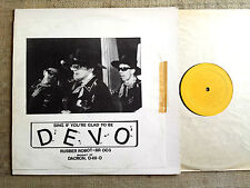 Devo ‎– Sing If You're Glad To Be Devo - - LP