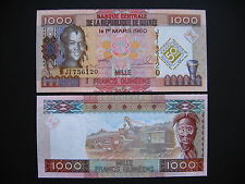 GUINEA  1000 Francs 2010  Commemorative Issue  (P43)  UNC