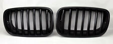 Matte Black Front Hood Kidney Sport Grills Pair FITS BMW X5 X6 E70 E71 07-13
