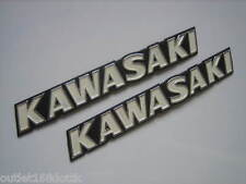 Pair Kawasaki KZ200 KZ750 B1-B4 KZ1000 A1-A2 Z1A Z1B Fuel Gas Tank Emblem Decals