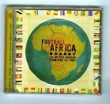 CD (NEW) FOOTBALL AFRICA (YOUSSOU N'DOUR BURNING SPEAR PAPA WEMBA OMAR PENE)