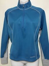 Sugoi Womens S Blue Gray 1/2 Zip Pullover Contoured Jacket Windhibitor