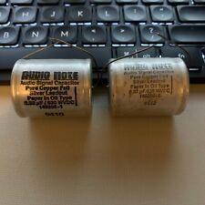 Audio Note Pure Copper Foil PIO Capacitors 0.33 uF 630 VDC New 2 Pcs