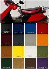HONDA CH80 Elite 80 Seat Cover in 2-tone Black & RED or 25 COLORS OPTIONS