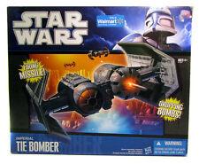 Saga de la guerra de las galaxias TIE Bomber Nave Imperial vehículo para su uso con figuras regulares