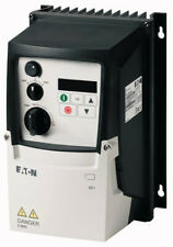 EATON DC1-1D2D3NN-A6SCE1 POWER XL VARIABLE FREQUENCY DRIVE, 0.5 HP, 2.3 A, NEW!