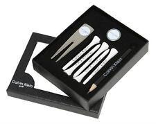 GOLF Tees Gift Set-Matita-MARKER-PIOTA Strumento Calvin Klein-Nuovo con Scatola