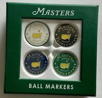 2021 Masters ball markers 4 pack augusta national golf 4 different new
