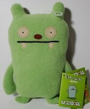 "Little Uglys ""JEERO"" Green 7"" Original UGLYDOLL! Must Have! RETIRED! Great Gift!"