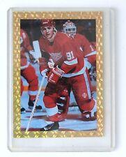 LIMITED EDITION Gold Trimmed Sergei Federov Hockey Card (Serial #3600 of 15,000)
