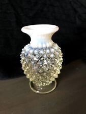 """Vintage Fenton Hobnail French Opalescent 4"""" Vase"""