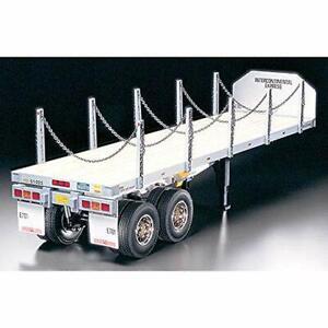 Tamiya 1/14 Electric No.06 Flat Bed for Trailer Radio Control 56306 F/S Japan