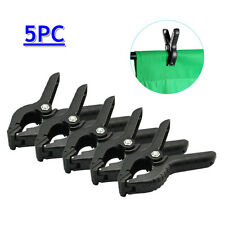 5 Heavy Duty Backdrop Clamp Clips for Photo Studio Photographic Background Ligh