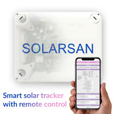 Dual Axis Solar Tracker Controller for Solar Panel GPS System