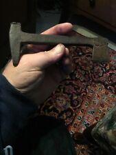 New listing 18th Century.Rev War Hand Forged Iron Super Rifleman Flint Knapper Tool Hammer