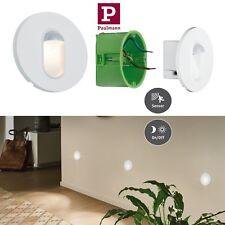 Paulmann LED Wandeinbauleuchte Rund 2,7Watt mit Bewegungssensor 2700K UVP29,95€